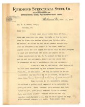Image of 1990.7.180 - Letter from C. M. Liphart to William H. Power dated 13 September 1912