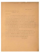Image of 1990.7.24 - Duplicate of letter from Sayre Iron Works to Richmond Structural Steel Co. dated 18 September 1912