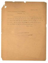 Image of 1990.7.28 - Duplicate of Letter from Sayre Iron Works to Richmond Structural Steel Co. dated 19 June 1913