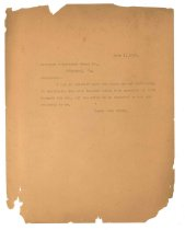 Image of 1990.7.29 - Duplicate of letter from Sayre Iron Works to Richmond Structural Steel Co. dated 1 July 1913