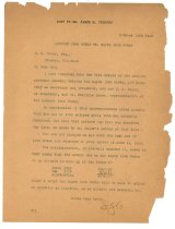 Image of 1990.7.122 - Copy of Letter from Lowmoor Iron Works to William H. Power dated 11 October 1912