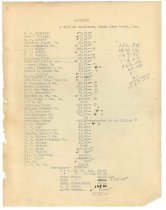 Image of 1990.7.160 - Sayre Iron Works list of creditors dated 19 September 1912