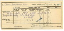 Image of 1990.7.162 - Sayre Iron Works tax receipt for 1911 taxes dated 27 December 1912
