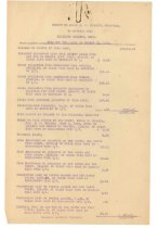 Image of 1990.7.203 - Report of James S.D. Cumming in account with Hamilton Cumming from 7 May 1921 to 31 August 1921