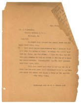 Image of 1990.7.31 - Duplicate of Letter from Sayre Iron Works to J.W. Nokely dated 21 October 1912