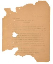 Image of 1990.7.34 - Letter from Sayre Iron Works to J.W. Nokely dated 20 February 1913