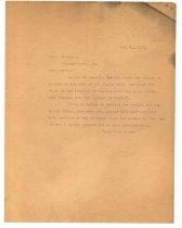 Image of 1990.7.4 - Duplicate of Letter from Sayre Iron Works to Scott Mitchell dated 31 December 1912