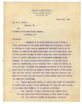 Image of 1990.7.48 - Letter from George Culbreth Thomas to William H. Power and Richmond Structural Steel Co. dated 20 June 1912