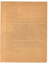 Image of 1990.7.6 - Duplicate of Letter from Sayre Iron Works to George Culbreth Thomas dated 13 July 1912