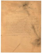 Image of 1990.7.8 - Duplicate of Letter from Sayre Iron Works to George Culbreth Thomas dated 18 July 1912