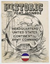 Image of 1985.5.35 - Historic Fort Monroe Home of Headquarters United States Continental Army Command booklet