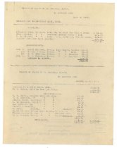 Image of 1990.7.275 - Combined reports of James S.D. Cumming in account with Mary C. Hess and Daniel R. Cumming from 1 October 1925 to 31 December 1925