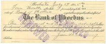 Image of 1990.7.370 - Bank of Phoebus bond signed by James S. D. Cumming paying to the order of the Bank of Phoebus, dated 24 July 1925