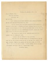 Image of 1990.7.17 - Duplicate of letter from Sayre Iron Works to George Culbreth Thomas dated 14 October 1912
