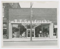 Image of X.95.87 - Regent Stores and B.F. Goodrich Tires storefront
