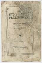 Image of 1986.9.17 - The Syms-Eaton Free School