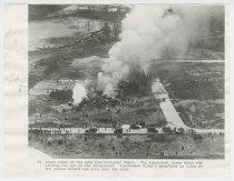 Image of 1987.18.69 - Aerial view of Roma crash site