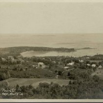 Image of Sherman's Pt from Mt. Battie