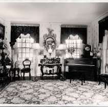 Image of Parlor with piano