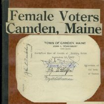 Image of Female Voters, Camden 1932