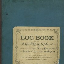 "Image of Log Book for ""Raphael"" - 1885"