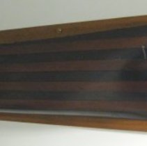 Image of Wooden half-hull model of the Frederick Billings