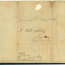 Image of Cushing Letter - 2/27/1810