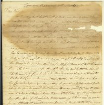 Image of Cushing Letter - 9/11/1810 p1