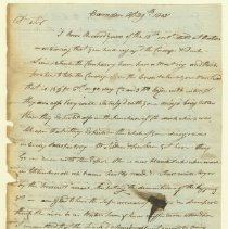 Image of Cushing Letter - 4/29/1805 p1
