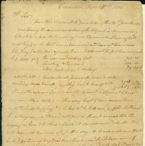 Image of Cushing Letter - 2/27/1810 p1