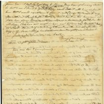 Image of Cushing Letter 7/2/1810 p2