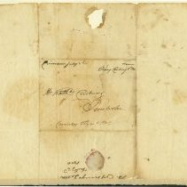 Image of Cushing Letter - July 2, 1810