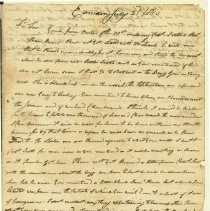 Image of Cushing Letter 7/2/1810 p1