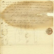 Image of Cushing Letter - 9/11/1810 p3