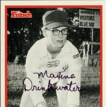 Image of Baseball Card - M. Drinkwater