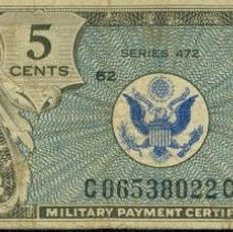 Image of Military Payment Certificate