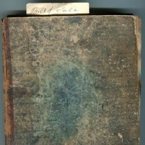Image of Hofses ledger book 1845