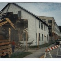 Image of Demolition of Knox Mill circa 1992