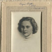 Image of Virginia Clayter, CHS Class of 1938