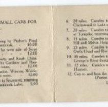 Image of Camden Auto Company advertising booklet