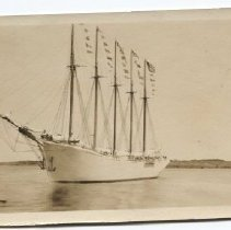 Image of Unidentified 5-masted schooner