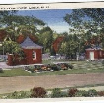 Image of Camden Amphitheatre postcard