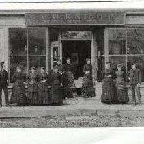 Image of Storefront of A.H. Knight, Merchant Tailor, 10 Main Street in Camden