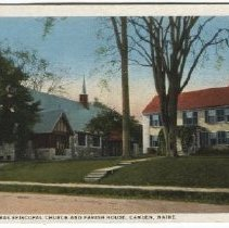 Image of Postcard of St. Thomas Episcopal Church, Chestnut St. Camden