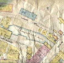 Image of Sanborn insurance map of Camden circa 1923