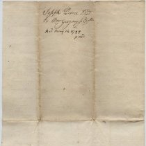 Image of Joseph Peirce quit claim deed 14 May 1799