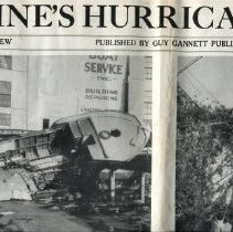 Image of Pictorial review of Hurrican Carol in 1954