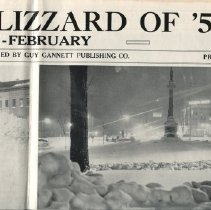 Image of Pictorial review of the Blizzard of 1952, Maine