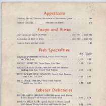Image of Marion Village Restaurant menu