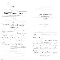 Image of Deeds from 1947 and 1959